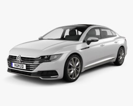 3D model of Volkswagen Arteon 2017