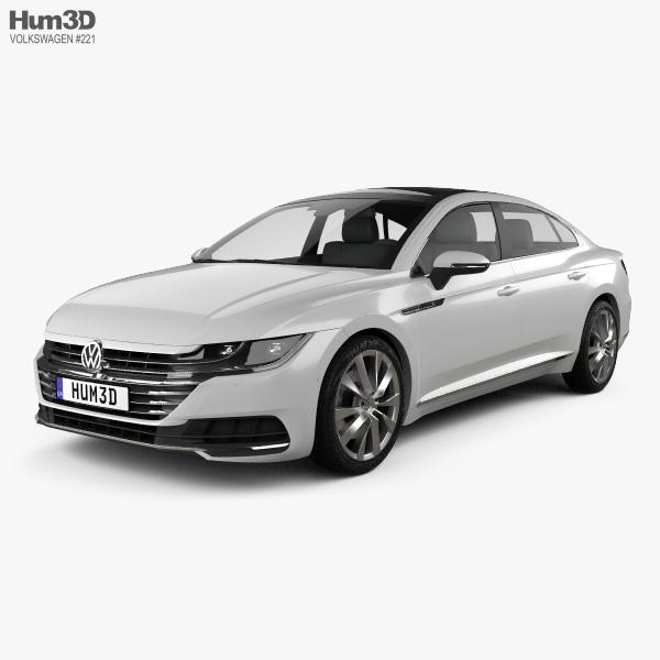 Volkswagen Arteon 2017 3D model