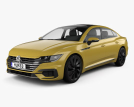 3D model of Volkswagen Arteon R-Line 2017