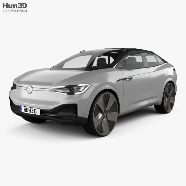 3D model of Volkswagen ID Crozz 2017