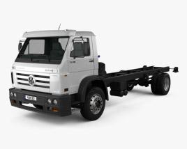 Volkswagen Worker (17-190) Chassis Truck 2-axle 2013 3D model