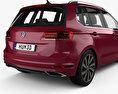 Volkswagen Golf Sportswan 2017 3d model