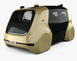 3D model of Volkswagen Sedric with HQ interior 2017