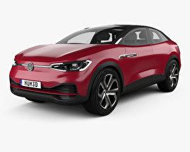 Volkswagen ID Crozz II 2017 3D model