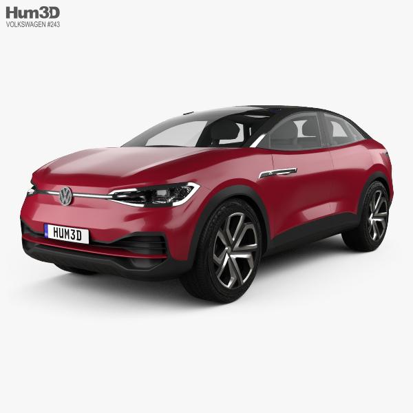 3D model of Volkswagen ID Crozz II 2017
