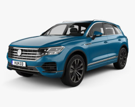 3D model of Volkswagen Touareg Elegance 2018