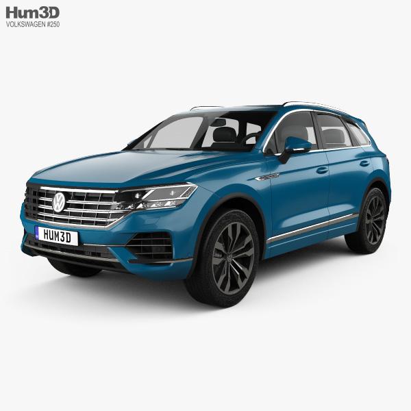 3D model of Volkswagen Touareg Elegance 2018