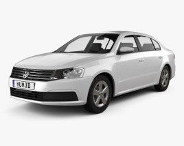 3D model of Volkswagen Lavida sedan 2015