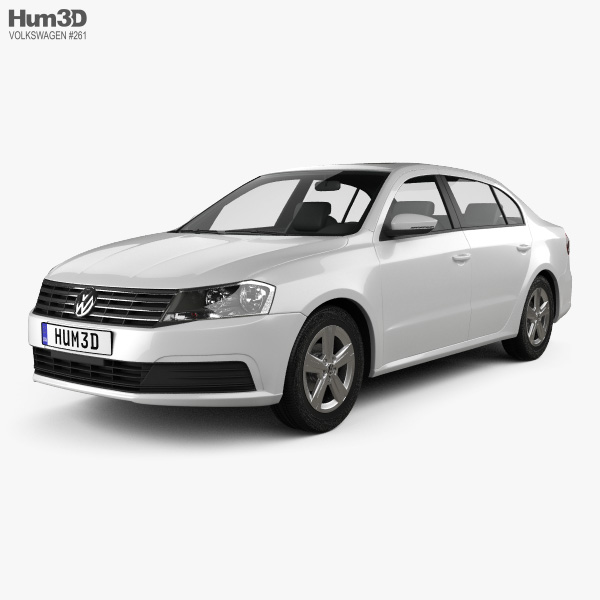 Volkswagen Lavida sedan 2015 3D model
