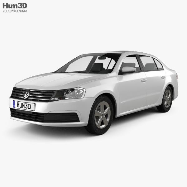 3D model of Volkswagen Lavida sedan 2015