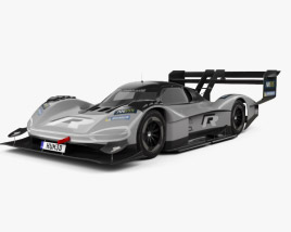 3D model of Volkswagen I.D.R 2018