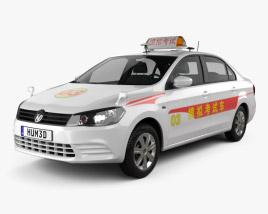 3D model of Volkswagen Jetta CN-specs Taxi 2013