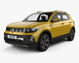 3D model of Volkswagen T-Cross 280 CN-spec 2019