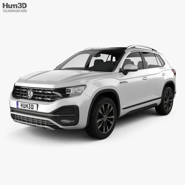 Volkswagen Tayron R-Line 2018 3D model