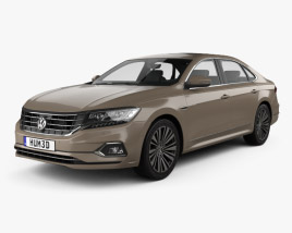3D model of Volkswagen Passat CN-spec 2019