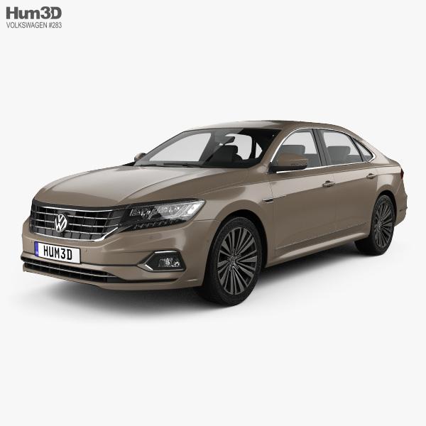 Volkswagen Passat CN-spec 2019 3D model