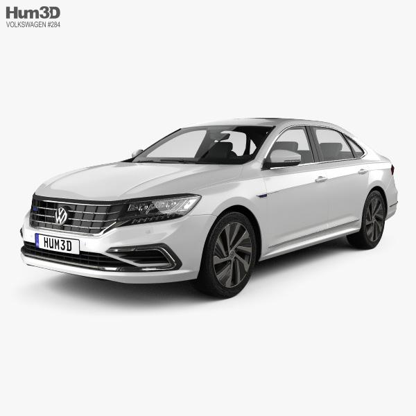 Volkswagen Passat PHEV CN-spec 2019 3D model