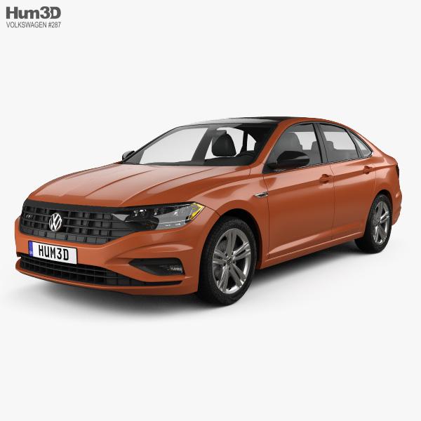 Volkswagen Jetta R-Line US-spec 2018 3D model