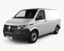3D model of Volkswagen Transporter Panel Van Startline 2019