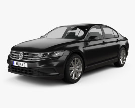 3D model of Volkswagen Passat sedan 2019
