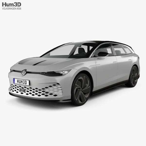 Volkswagen ID Space Vizzion 2019 3D model