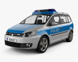 3D model of Volkswagen Touran Police Germany 2011