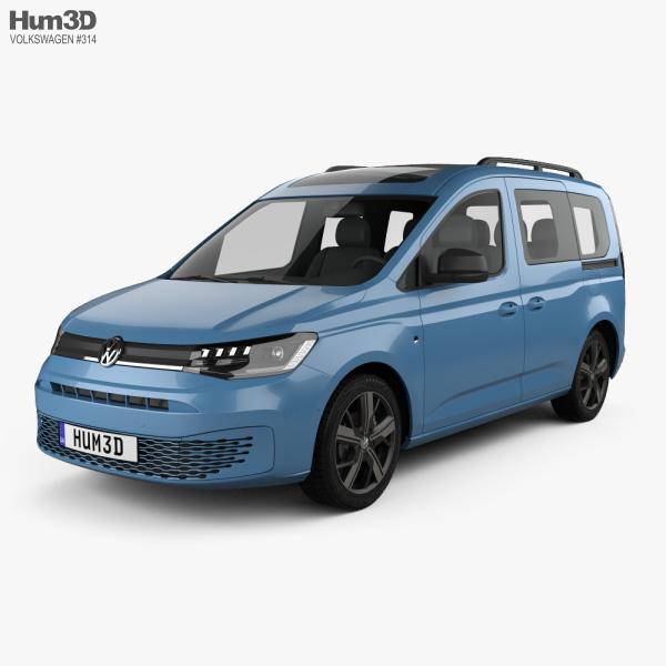 Volkswagen Caddy Life 2020 3D model
