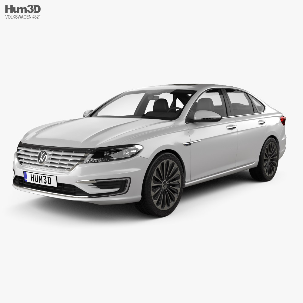Volkswagen E-Lavida 2018 3D model
