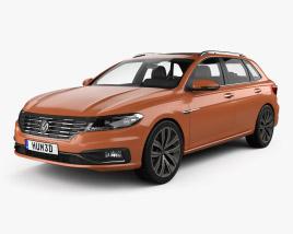 Volkswagen Gran Lavida 2018 3D model