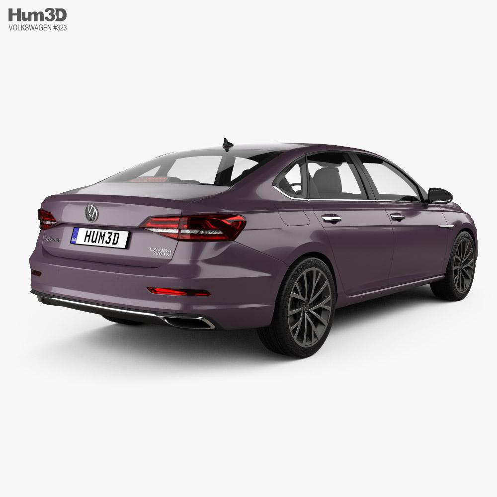 Volkswagen Lavida Plus 2018 3d model