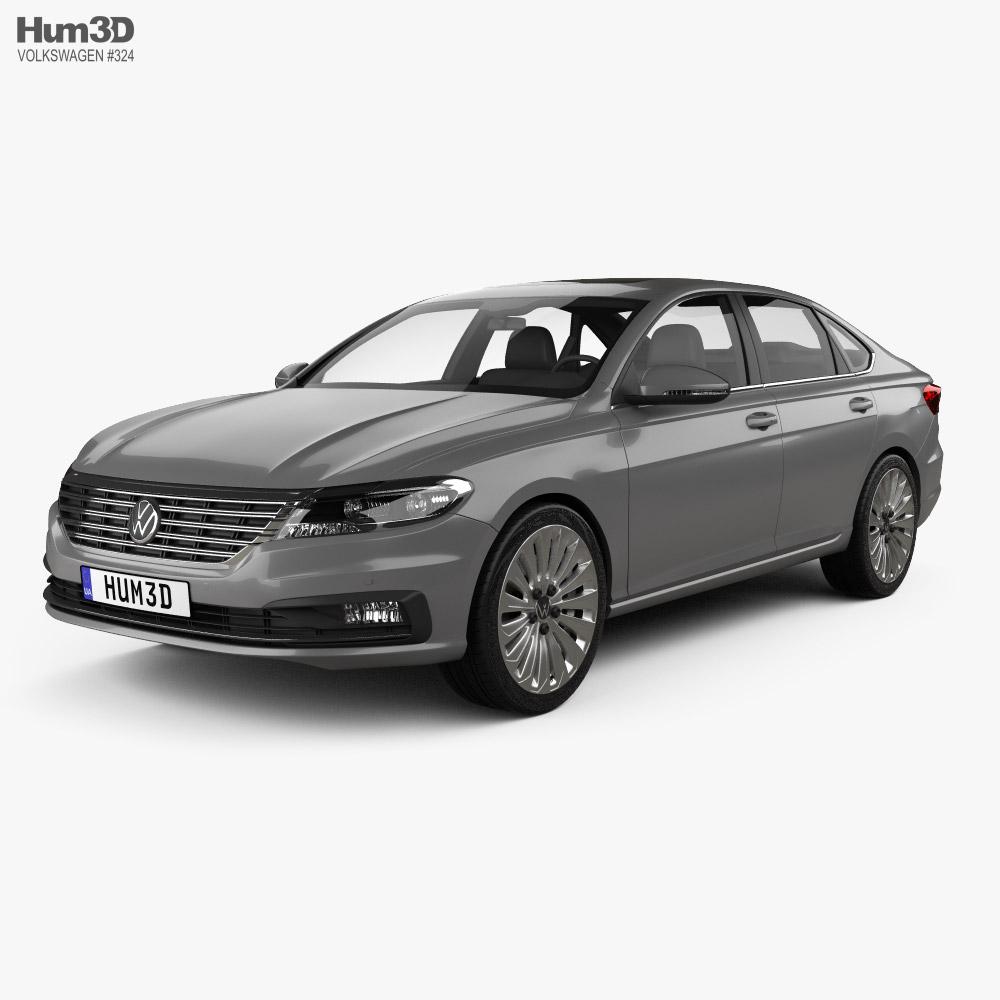 Volkswagen Lavida 2019 3D model
