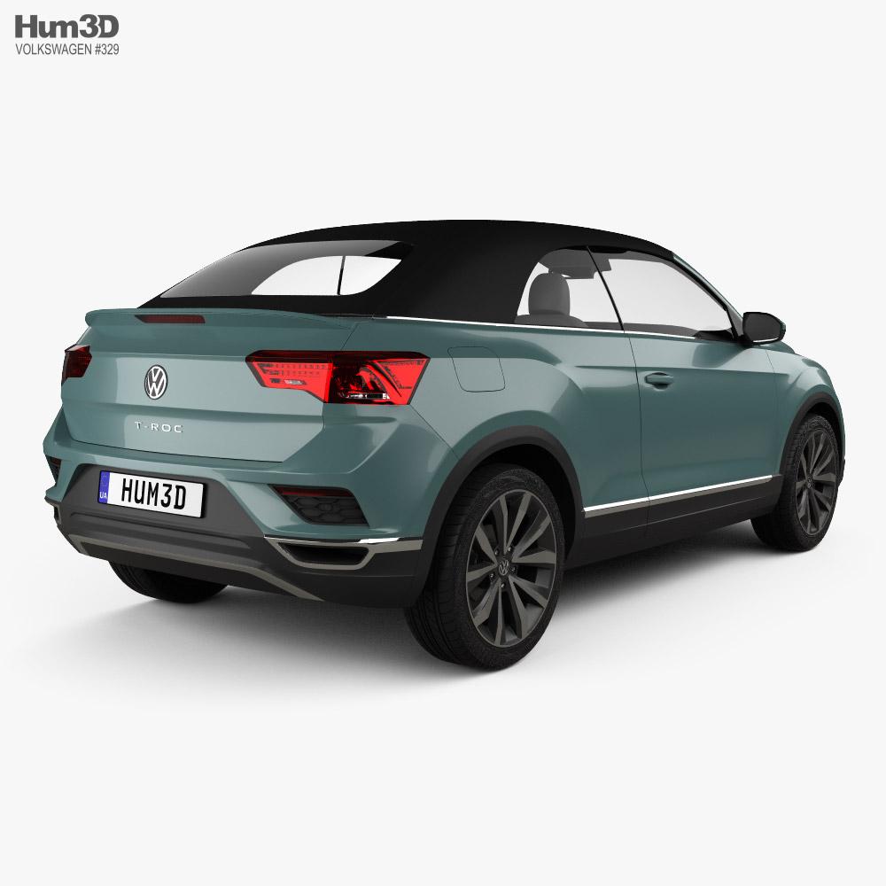 Volkswagen T-Roc cabriolet 2020 3d model