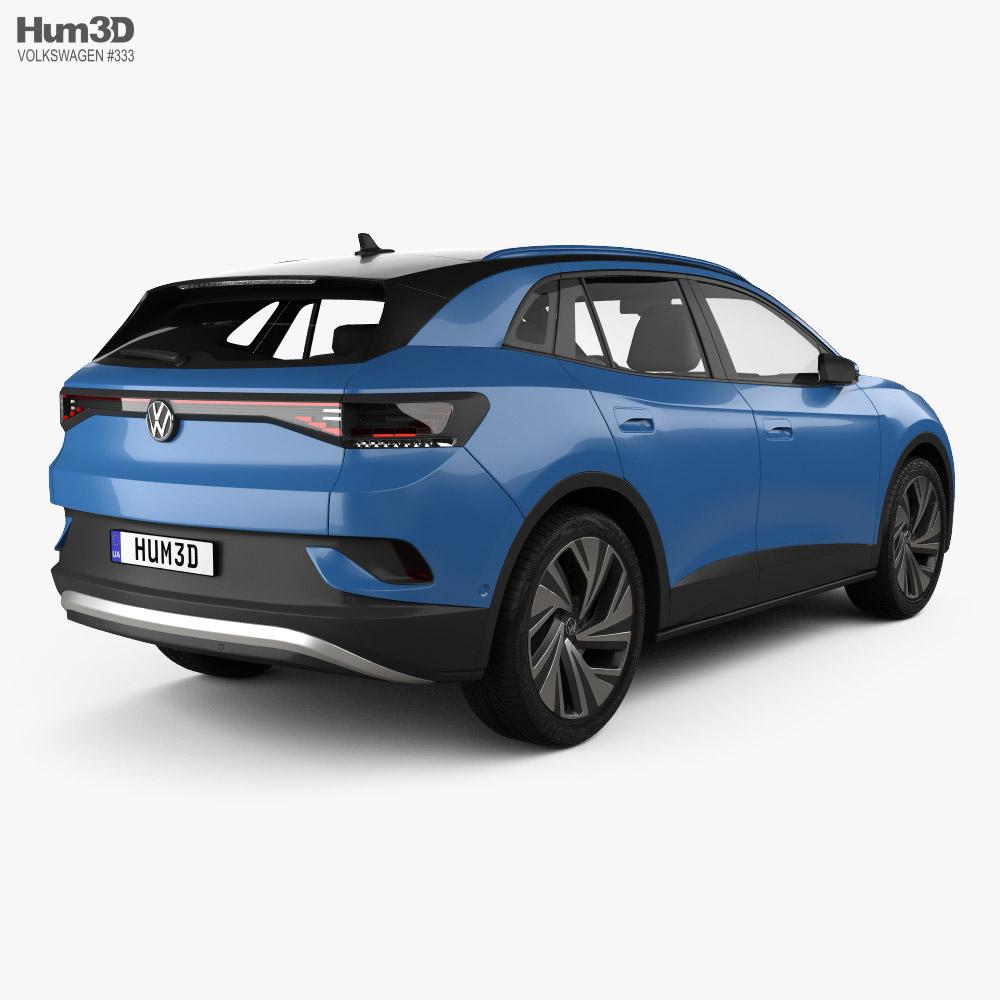 Volkswagen ID.4 2020 3d model