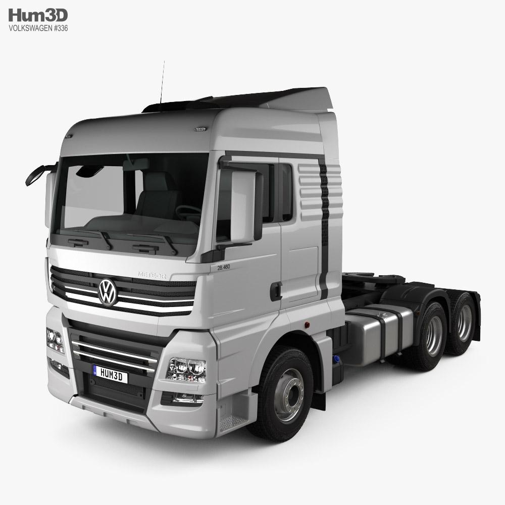 Volkswagen Meteor Tractor Truck 2020 3D model