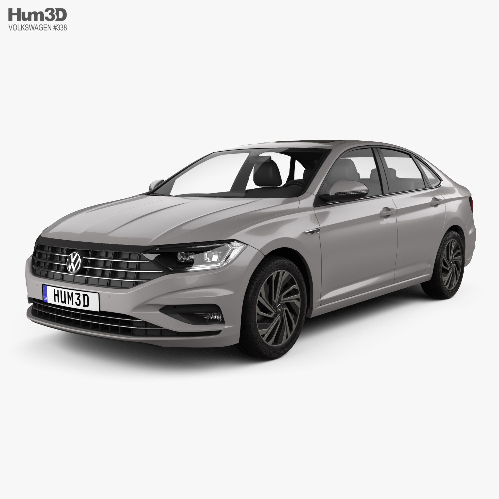Volkswagen Sagitar 2019 3D model