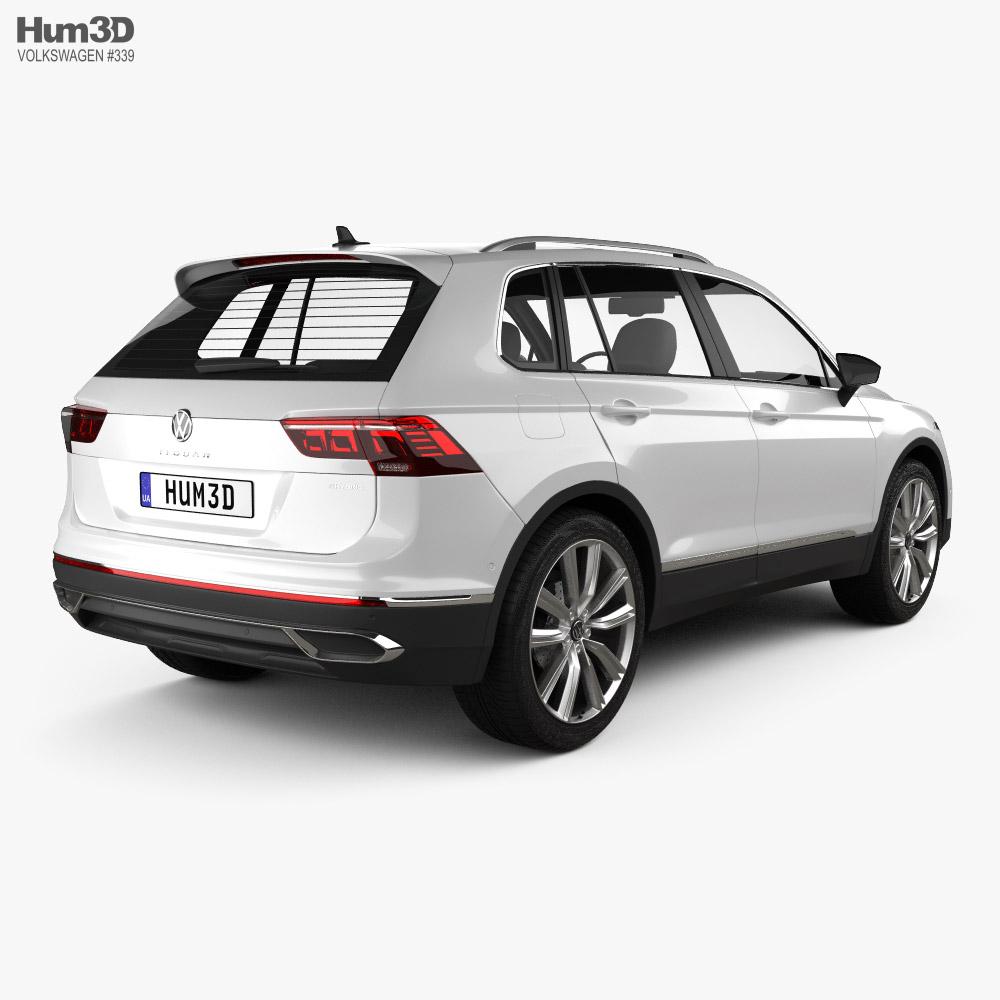Volkswagen Tiguan eHybrid 2020 3d model
