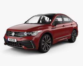 3D model of Volkswagen Tiguan X R-line CN-spec 2020