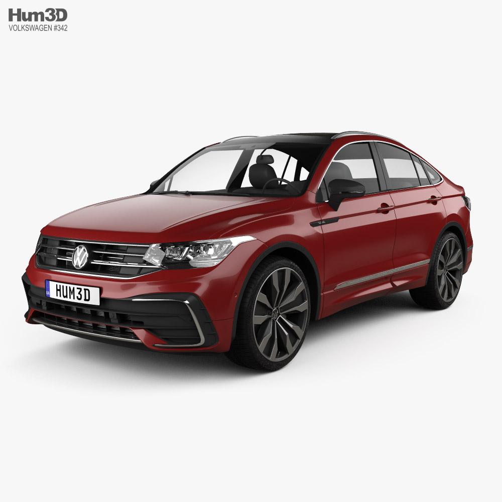 Volkswagen Tiguan X R-line CN-spec 2020 3D model
