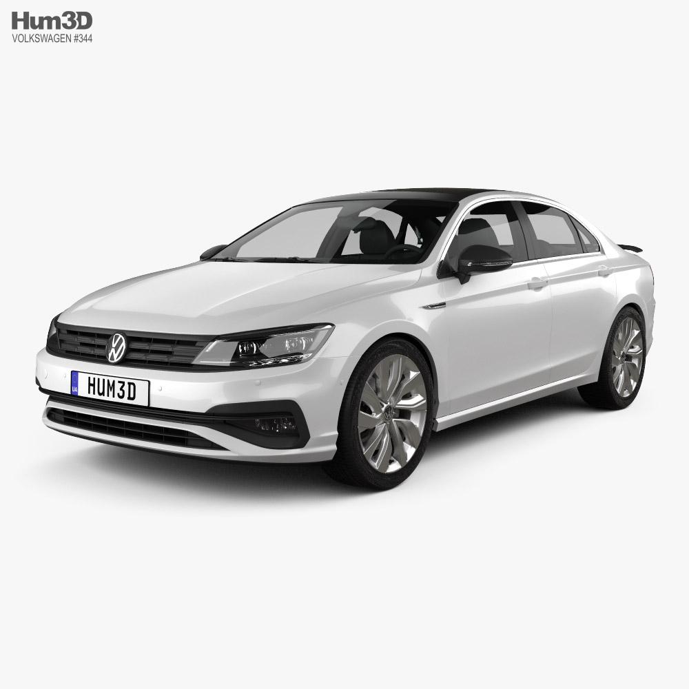 Volkswagen Lamando 2021 3D model