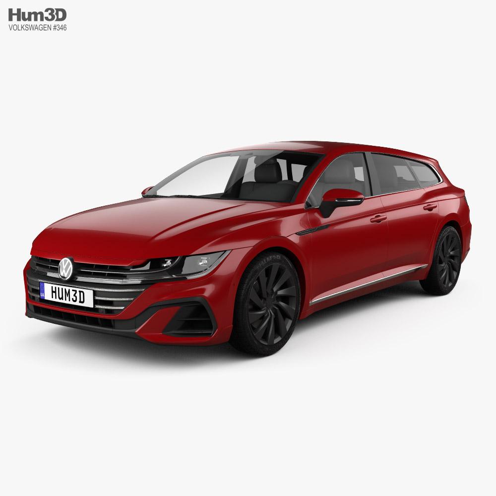 Volkswagen Arteon Shooting Brake R-Line 2020 3D model