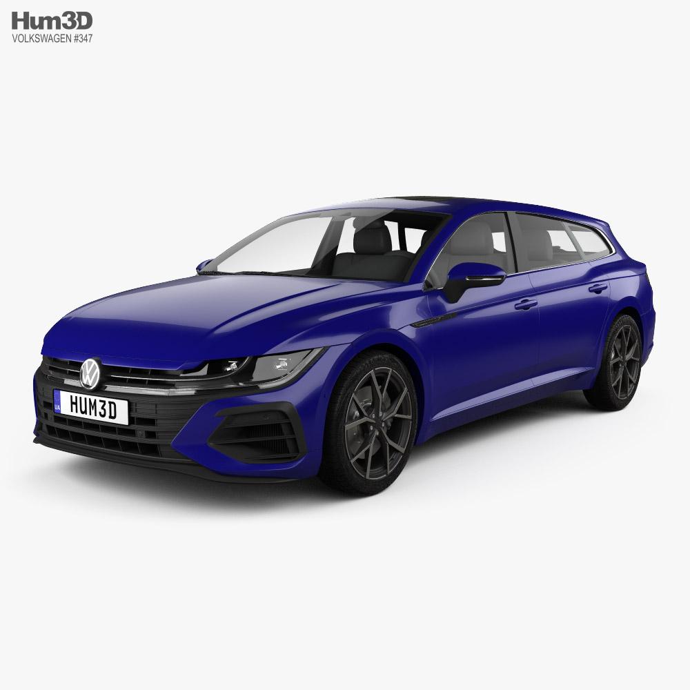 Volkswagen Arteon Shooting Brake R 2020 3D model