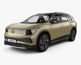 Volkswagen ID.6 X Prime 2021 3D model