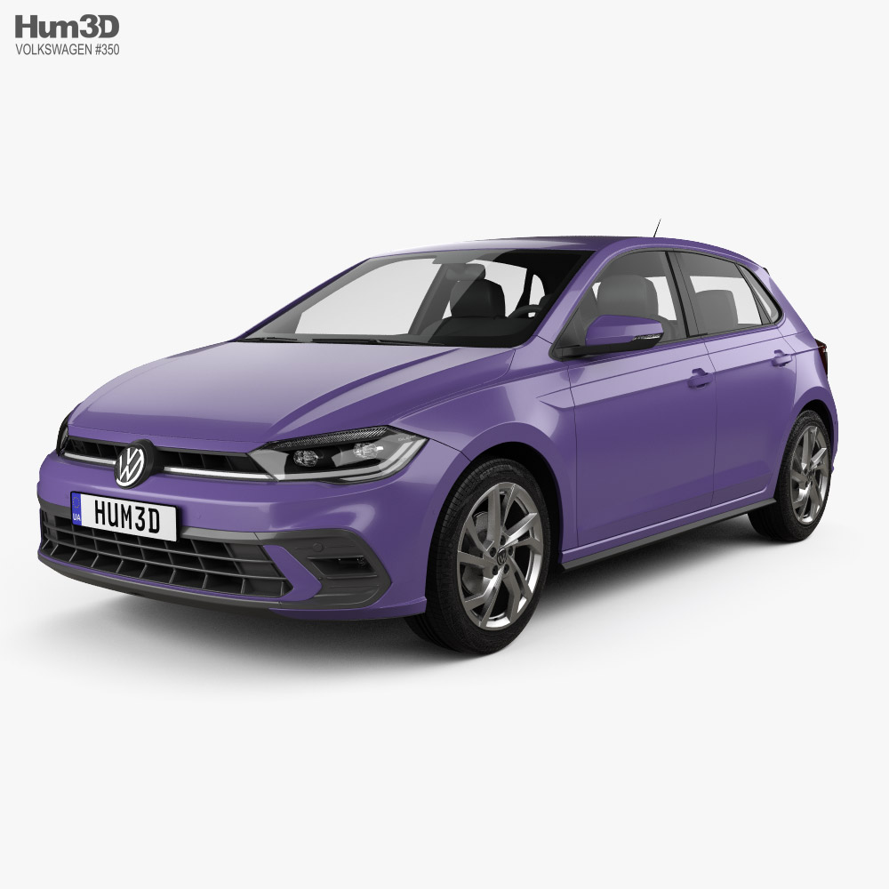 Volkswagen Polo AW Style 2021 3D model
