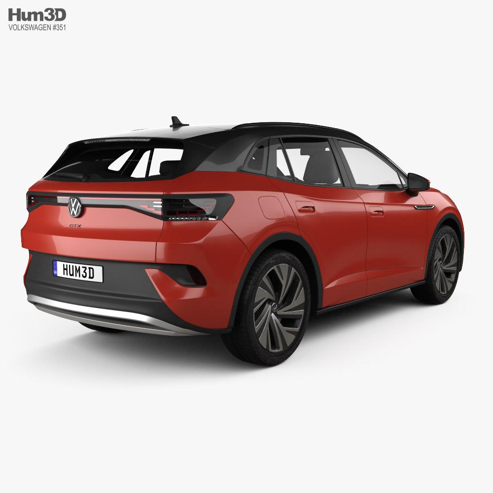 Volkswagen ID.4 GTX 2022 3d model