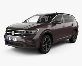 Volkswagen Talagon 2022 3D model