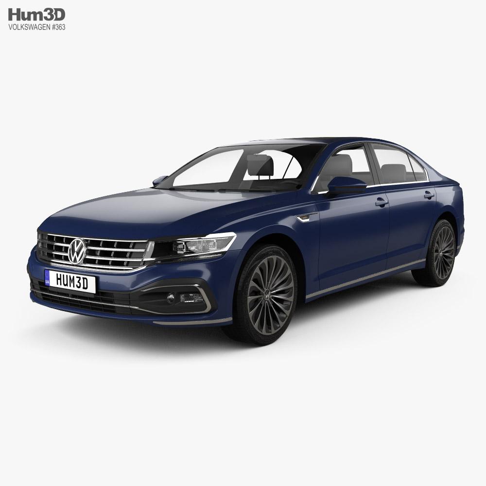 Volkswagen Phideon 2020 Modelo 3D