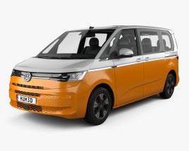 Volkswagen Transporter (T7) Multivan eHybrid 2021 3D model