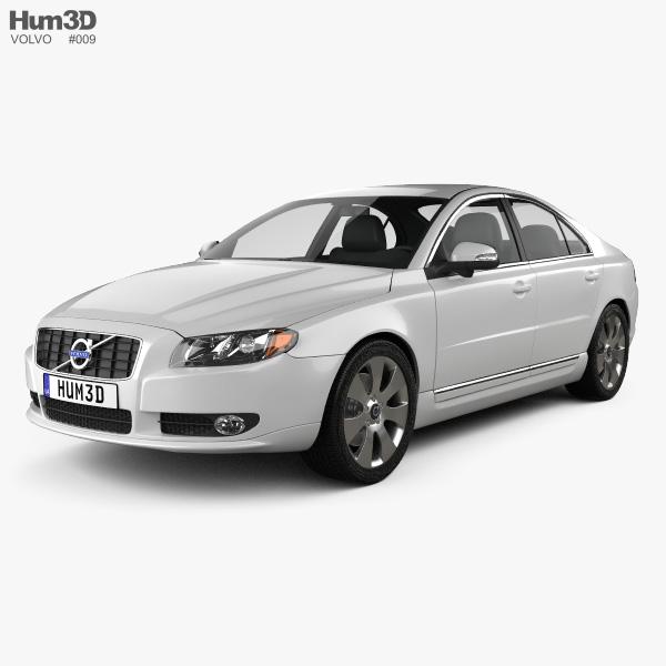 Volvo S80 2011 3D model