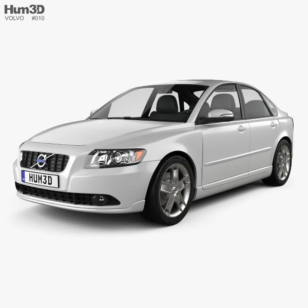 Volvo S40 2011 3D model