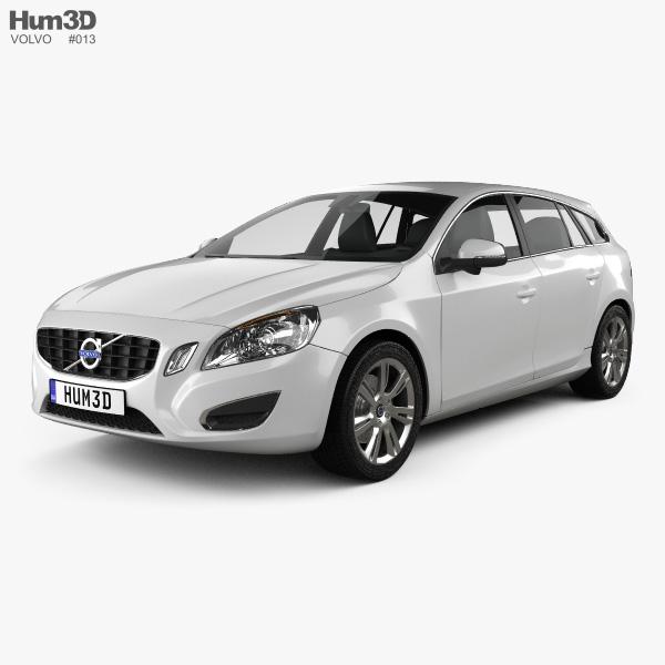 Volvo V60 2011 3D model